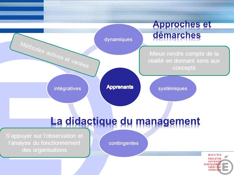 La didactique du management