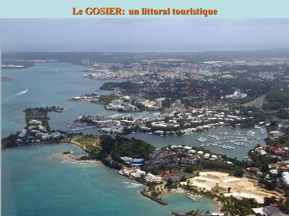 Le GOSIER: un littoral touristique