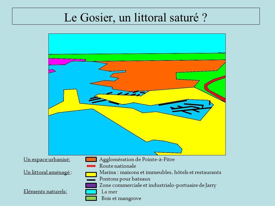 Le Gosier, un littoral saturé