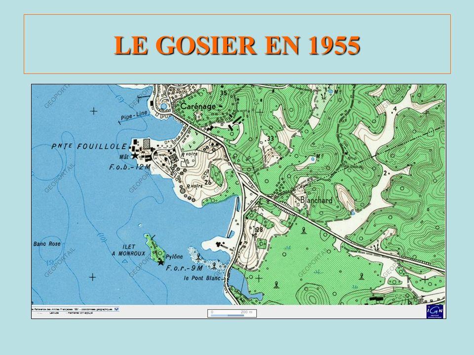 LE GOSIER EN 1955