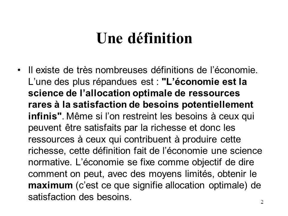 Une définition