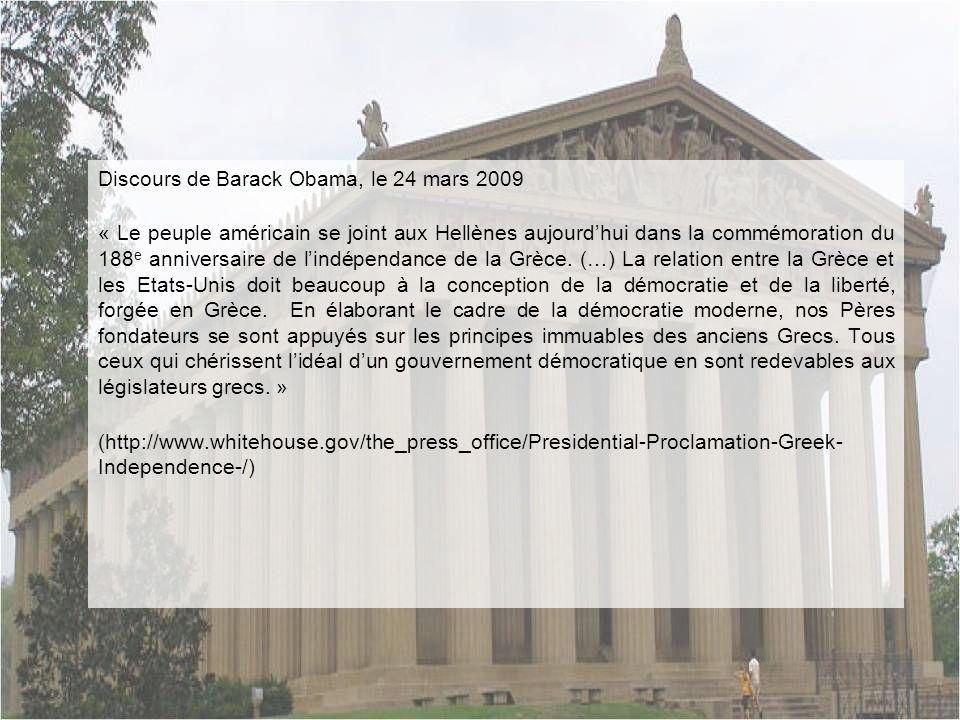 Discours de Barack Obama, le 24 mars 2009