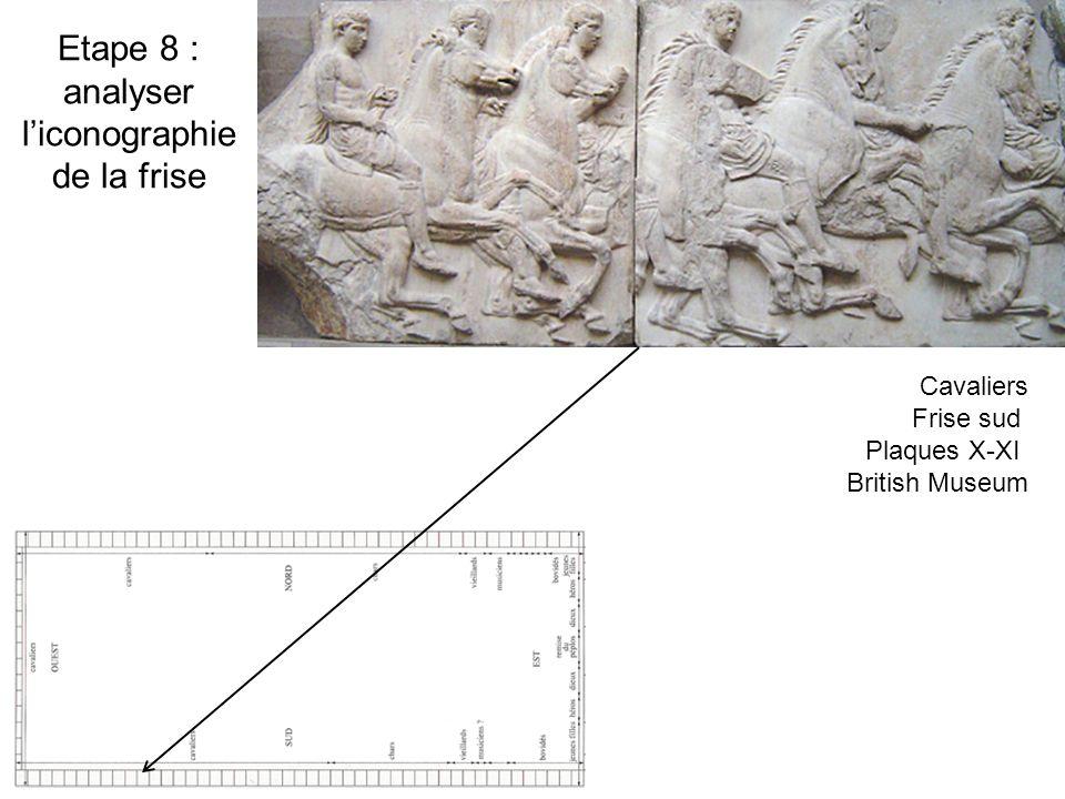 Etape 8 : analyser l'iconographie de la frise