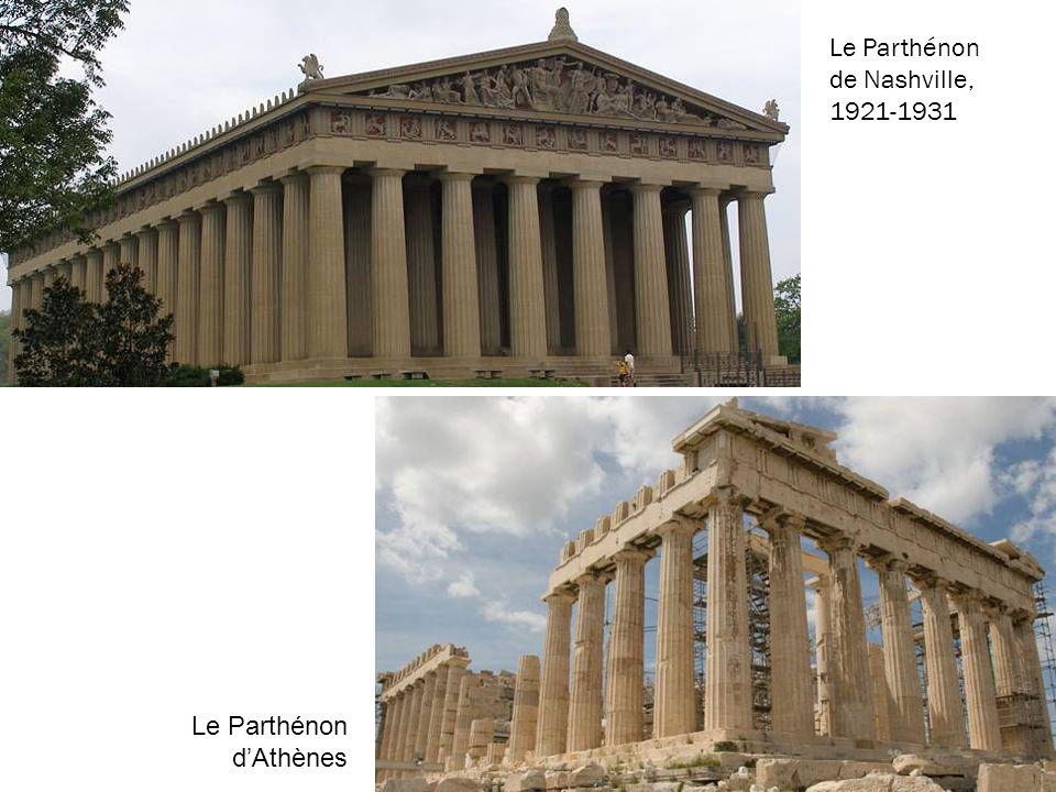 Le Parthénon de Nashville, 1921-1931