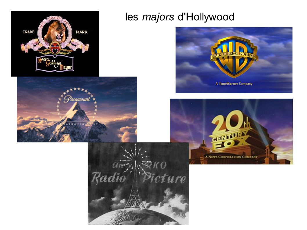les majors d Hollywood