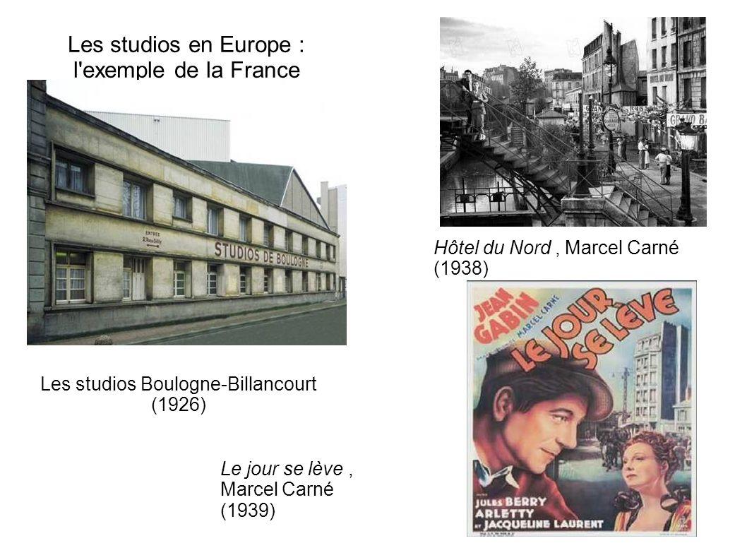 Les studios en Europe : l exemple de la France
