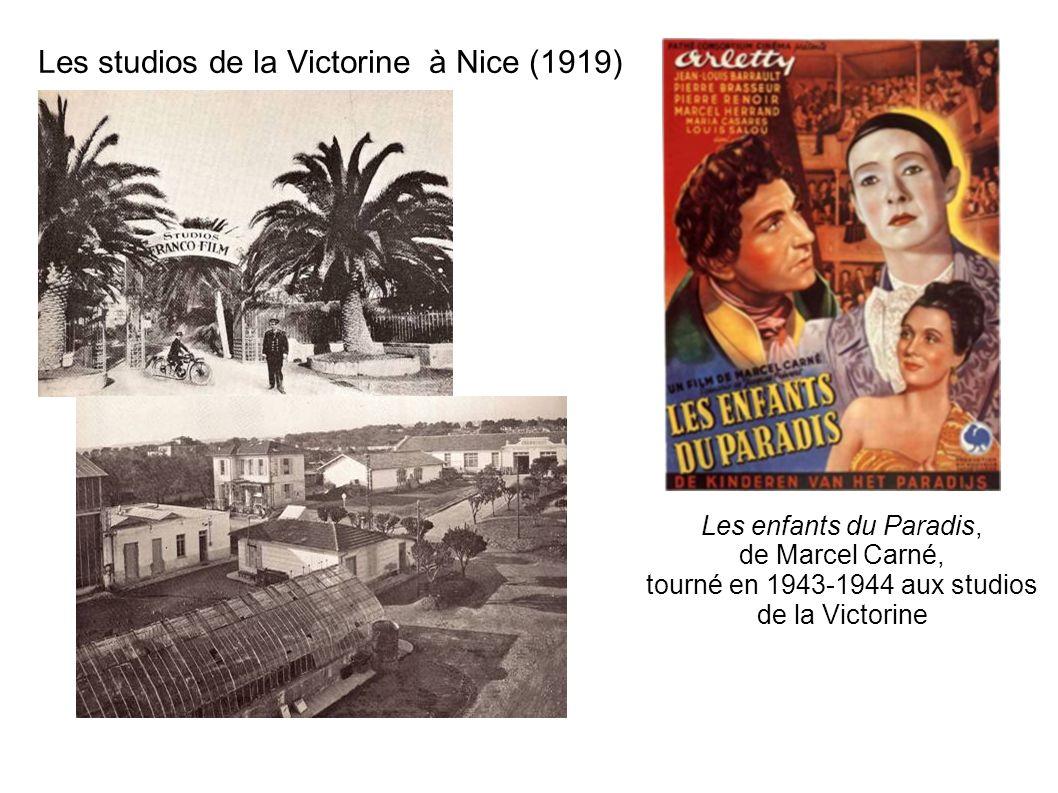 Les studios de la Victorine à Nice (1919)