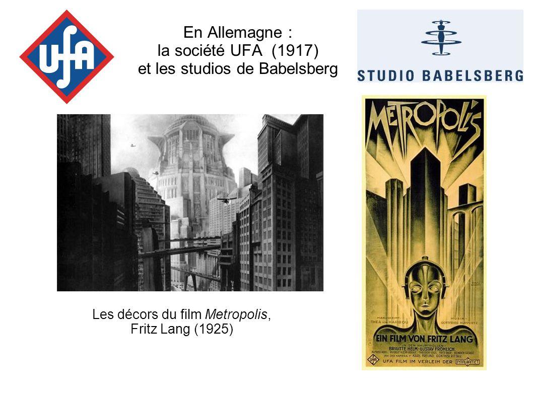 En Allemagne : la société UFA (1917) et les studios de Babelsberg