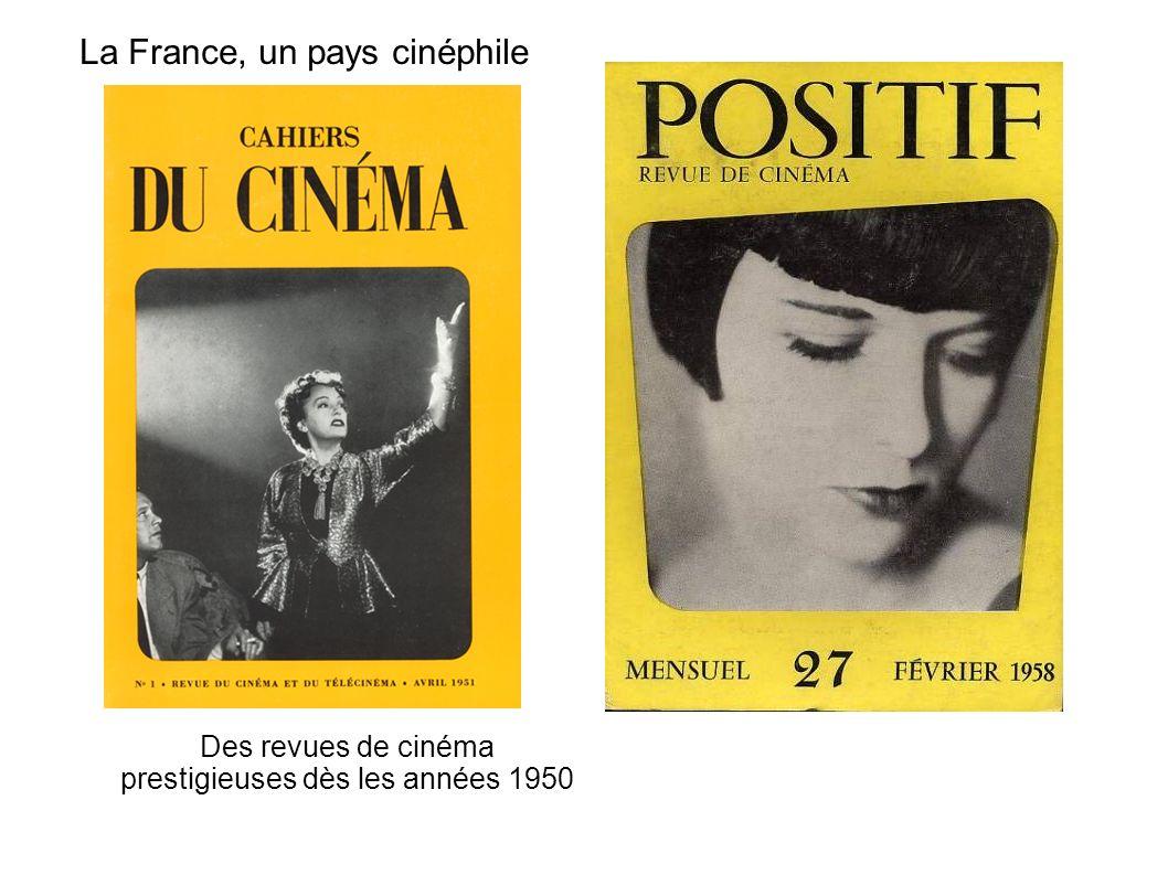La France, un pays cinéphile
