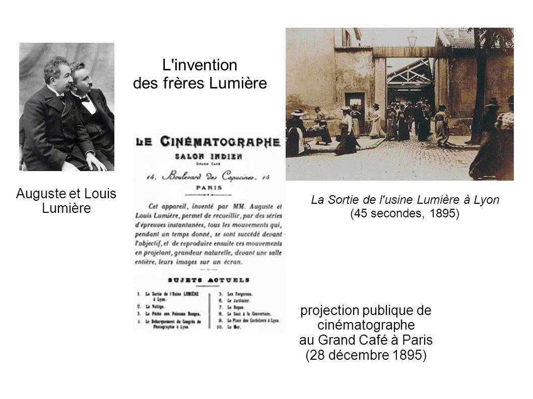 L invention des frères Lumière