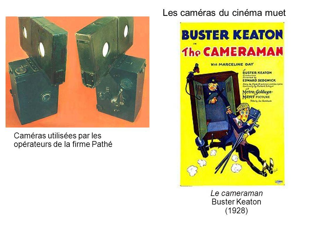 Les caméras du cinéma muet