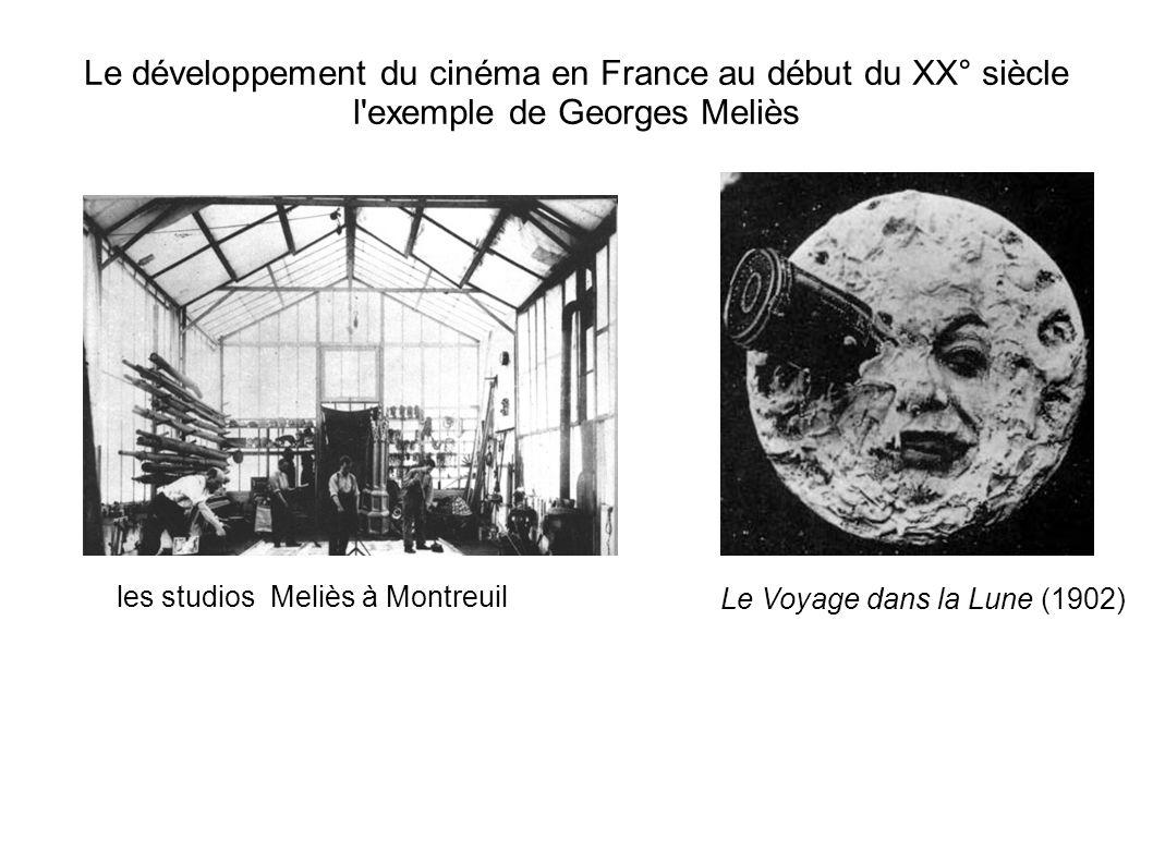 Le développement du cinéma en France au début du XX° siècle l exemple de Georges Meliès