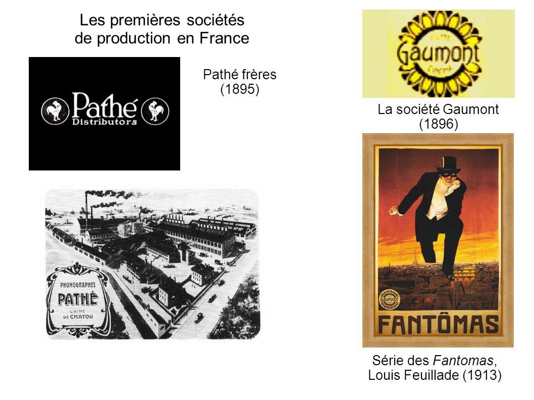 Les premières sociétés de production en France