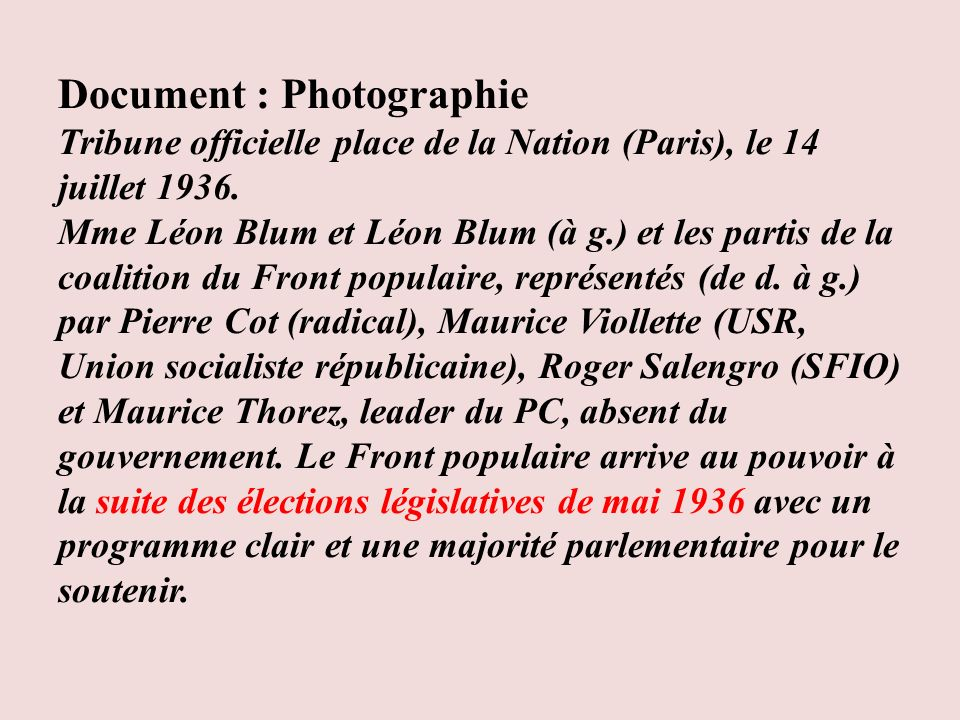 Document : Photographie