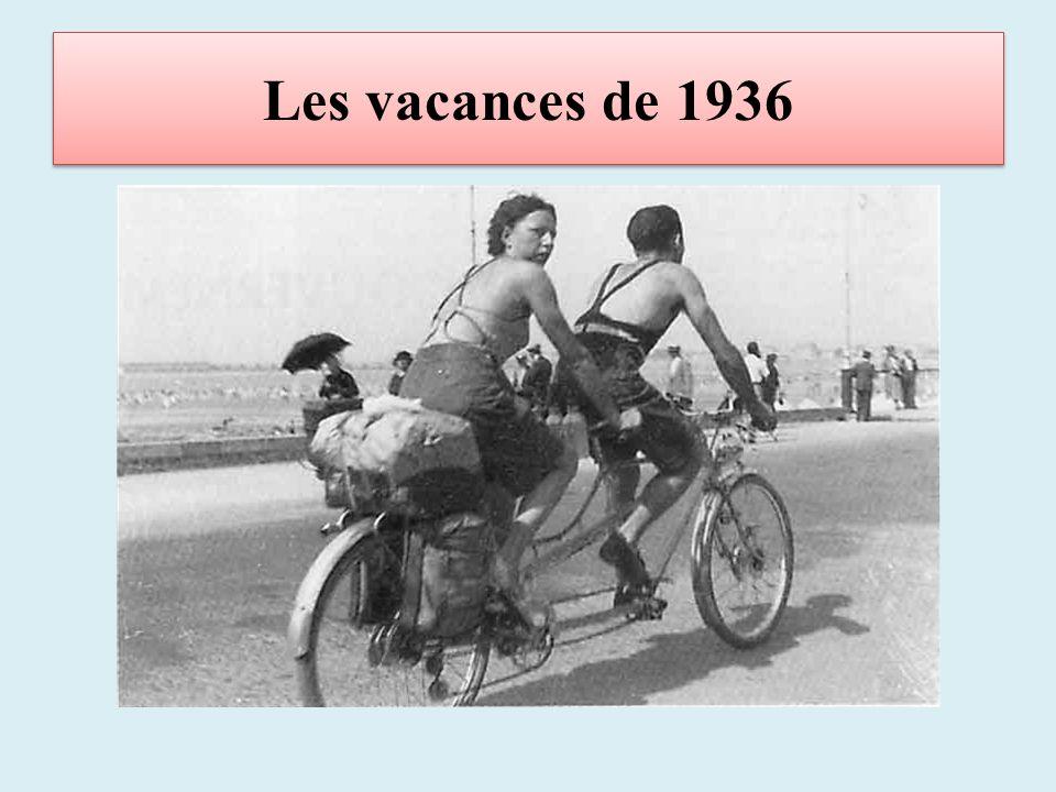 Les vacances de 1936
