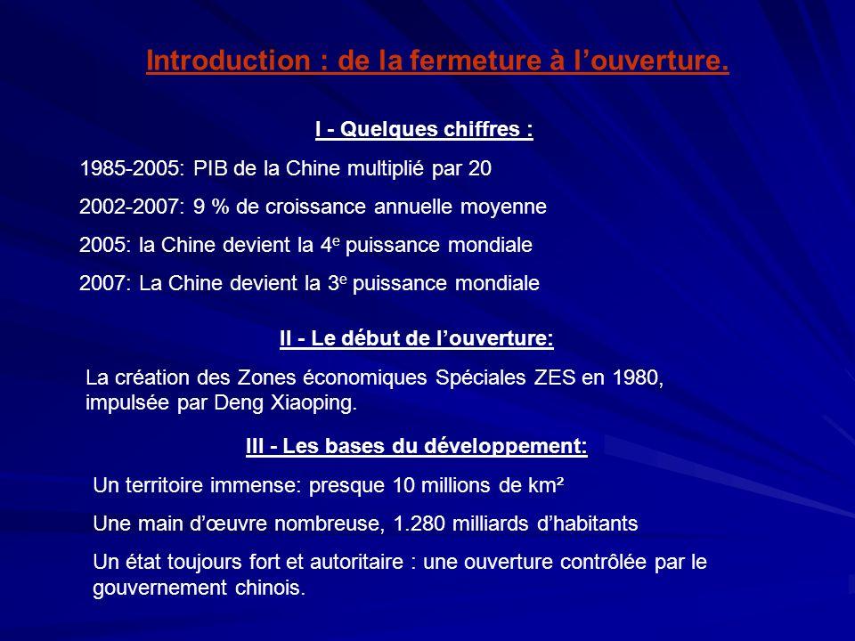 Introduction : de la fermeture à l'ouverture.