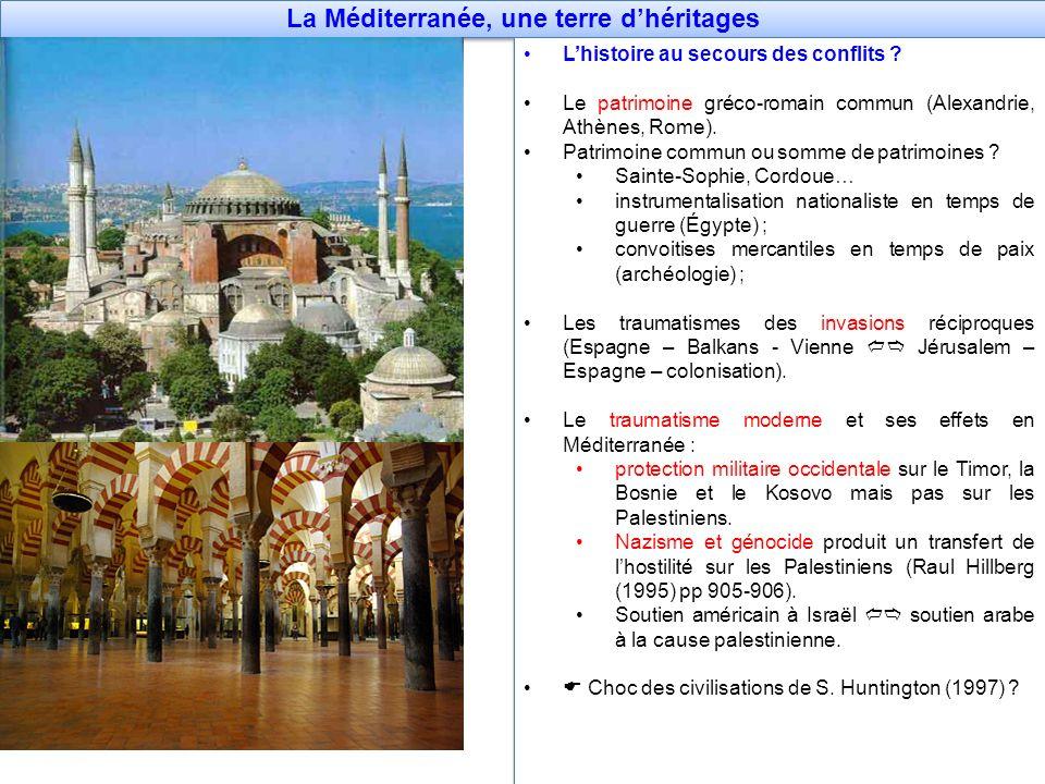 La Méditerranée, une terre d'héritages
