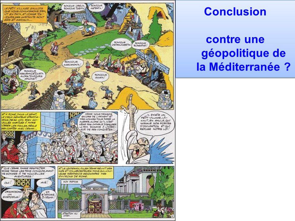 contre une géopolitique de la Méditerranée