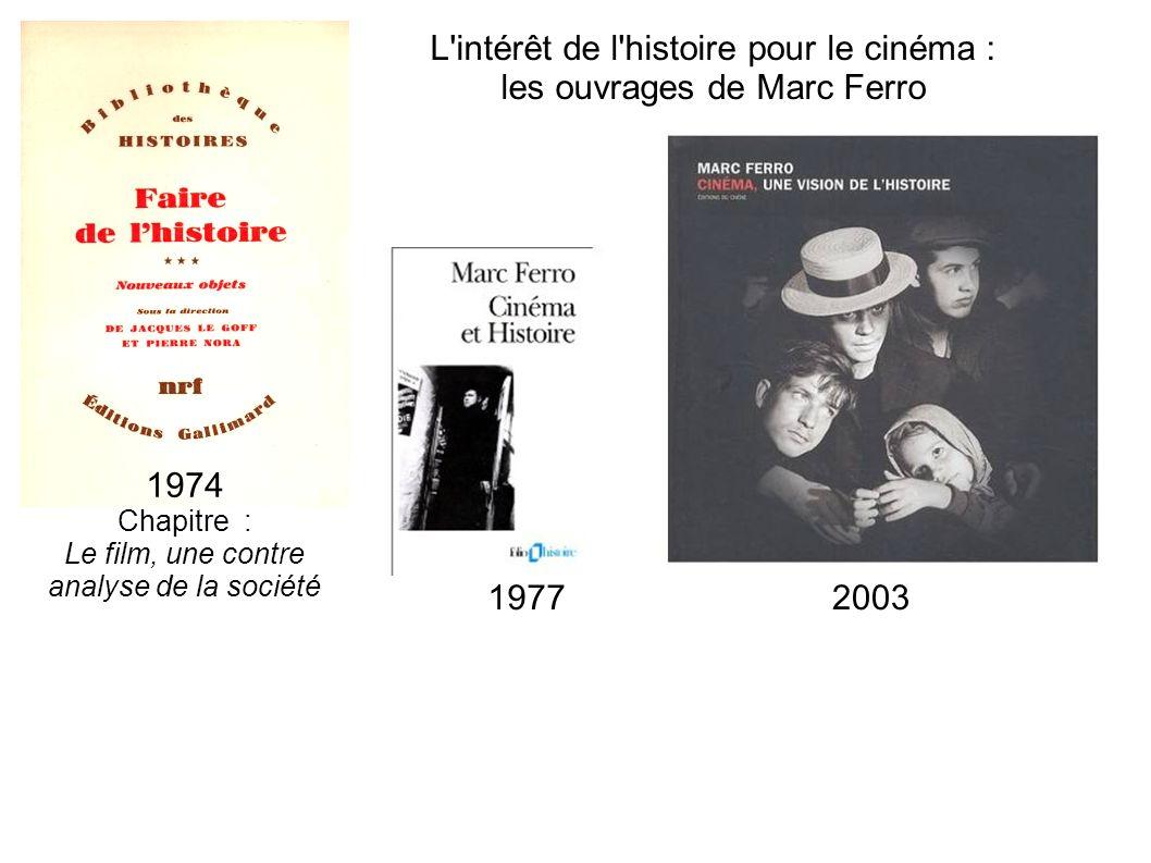 L intérêt de l histoire pour le cinéma : les ouvrages de Marc Ferro