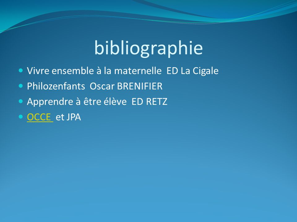 bibliographie Vivre ensemble à la maternelle ED La Cigale