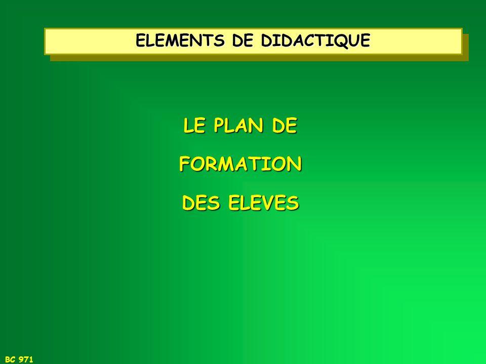 ELEMENTS DE DIDACTIQUE