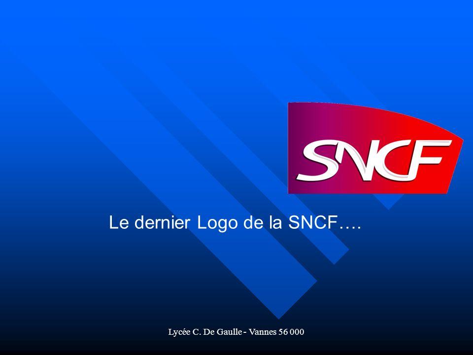 Le dernier Logo de la SNCF….