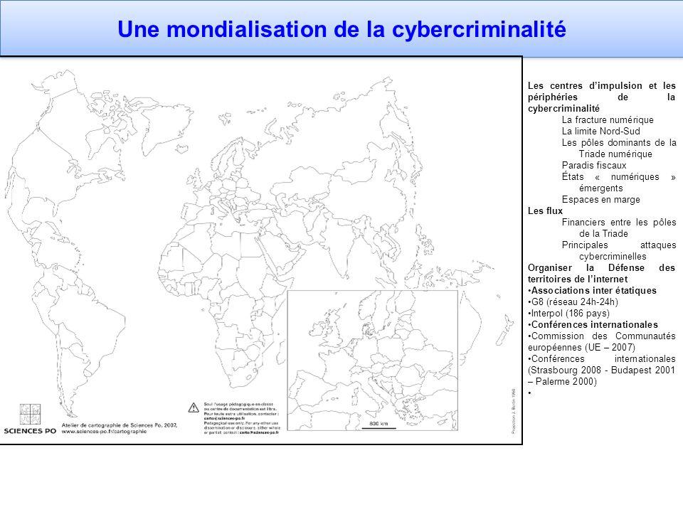 Une mondialisation de la cybercriminalité