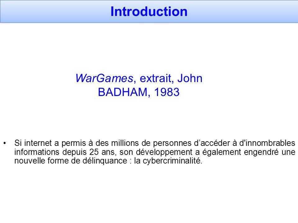 WarGames, extrait, John BADHAM, 1983