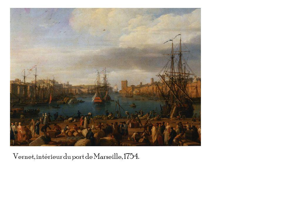 Vernet, intérieur du port de Marseille, 1754.