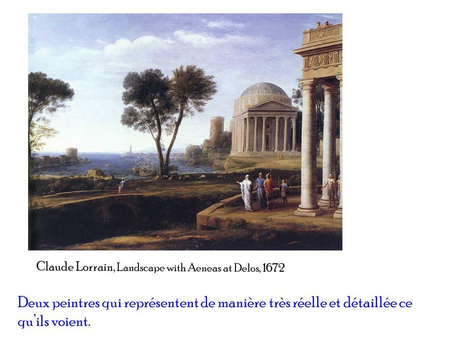 Claude Lorrain, Landscape with Aeneas at Delos, 1672