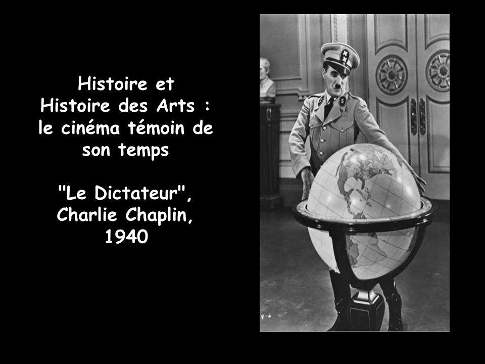 le cinéma témoin de son temps Le Dictateur , Charlie Chaplin, 1940