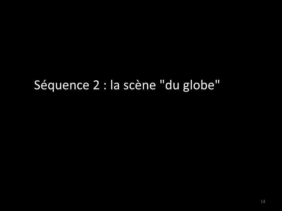 Séquence 2 : la scène du globe