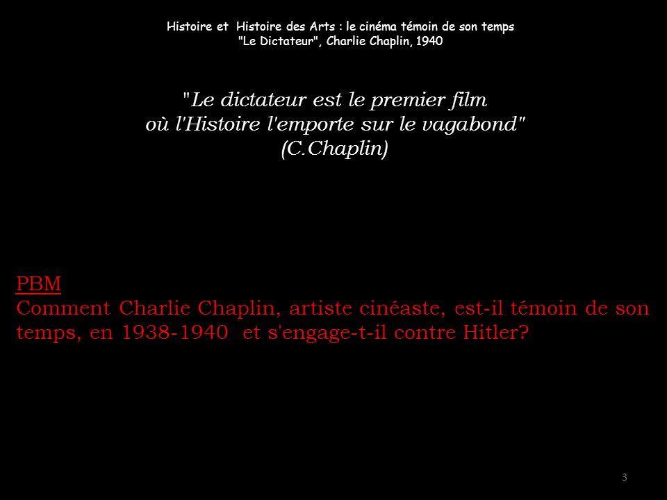 Le dictateur est le premier film