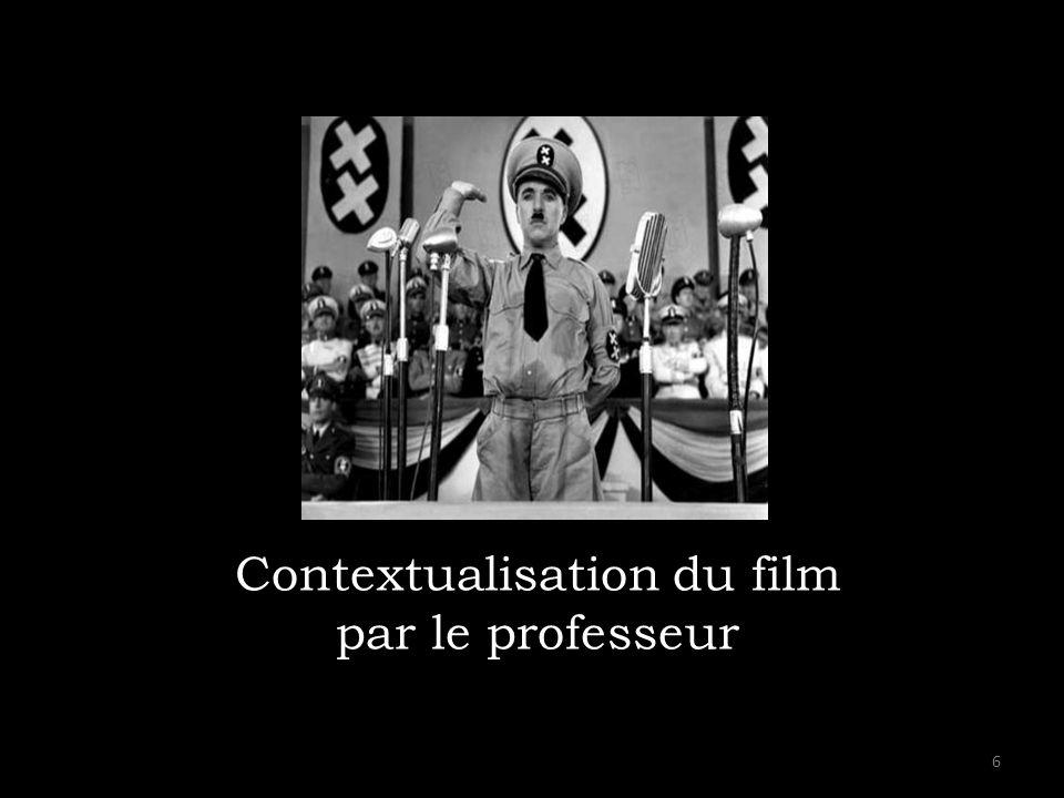 Contextualisation du film