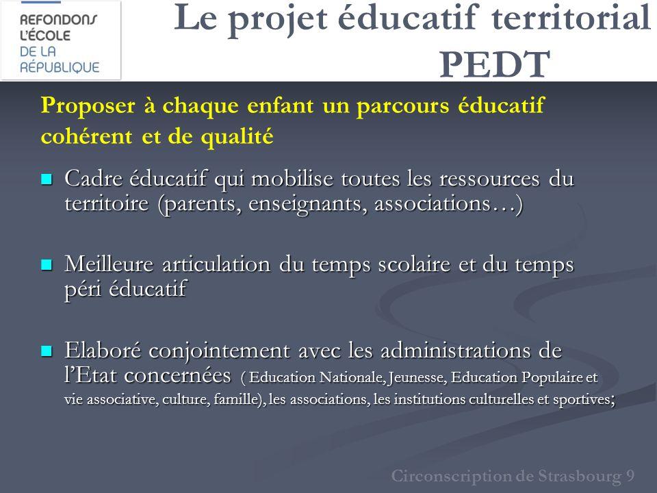 Le projet éducatif territorial PEDT