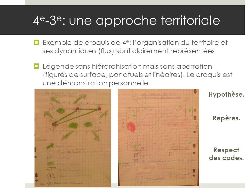 4e-3e: une approche territoriale