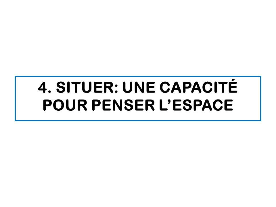 4. Situer: Une capacité pour penser l'espace