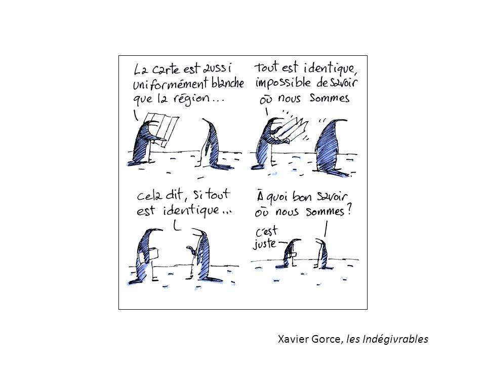 Xavier Gorce, les Indégivrables