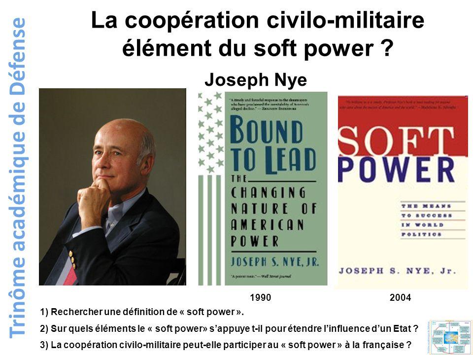 La coopération civilo-militaire Trinôme académique de Défense