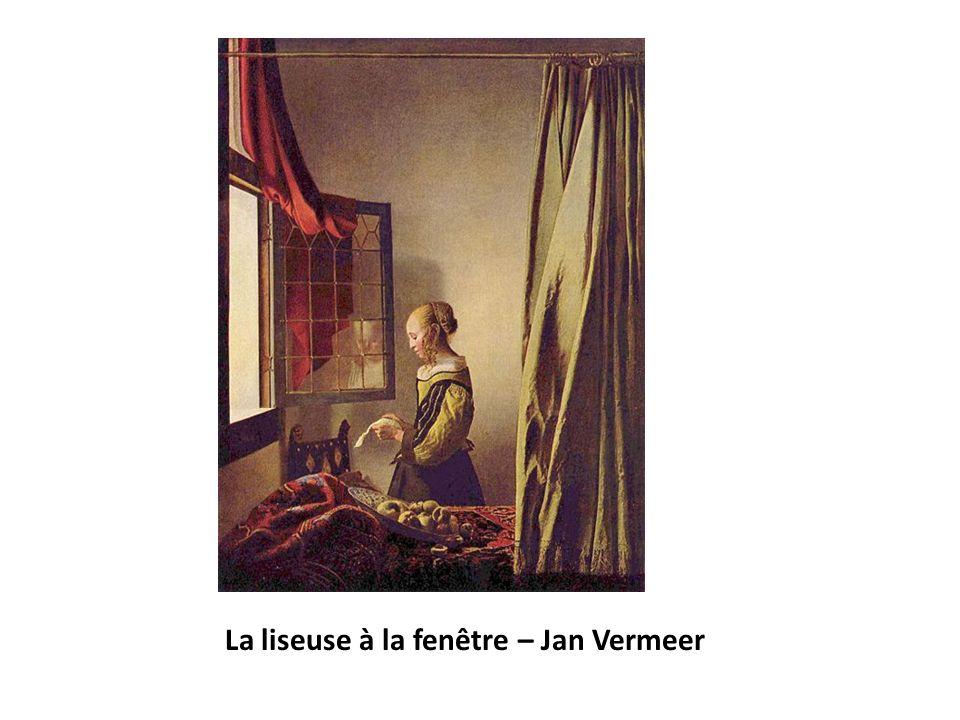 La liseuse à la fenêtre – Jan Vermeer