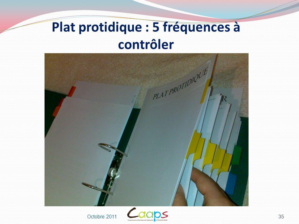 Plat protidique : 5 fréquences à contrôler
