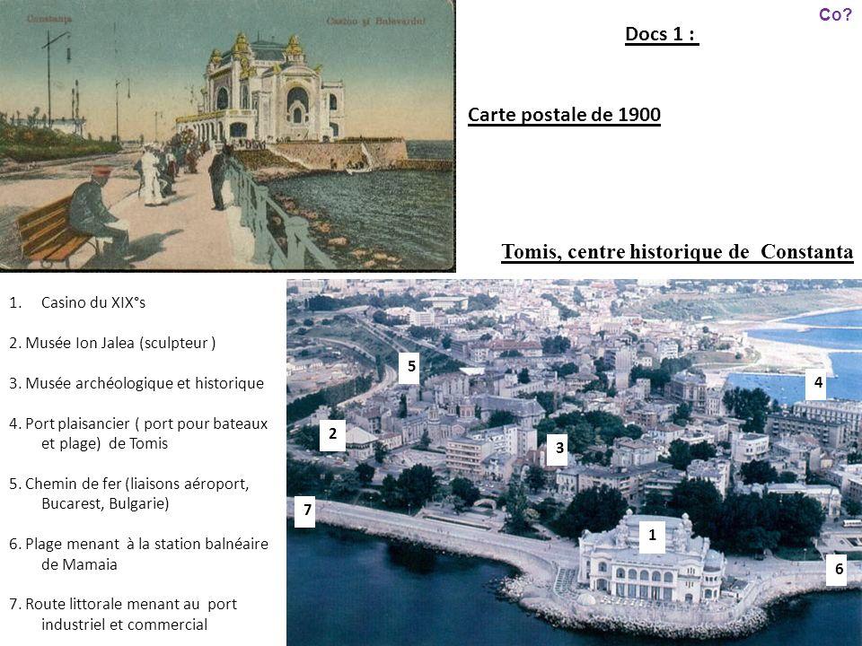 Tomis, centre historique de Constanta