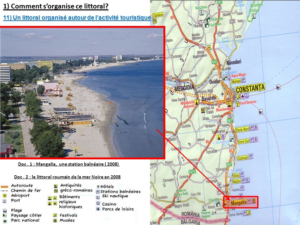 1) Comment s'organise ce littoral