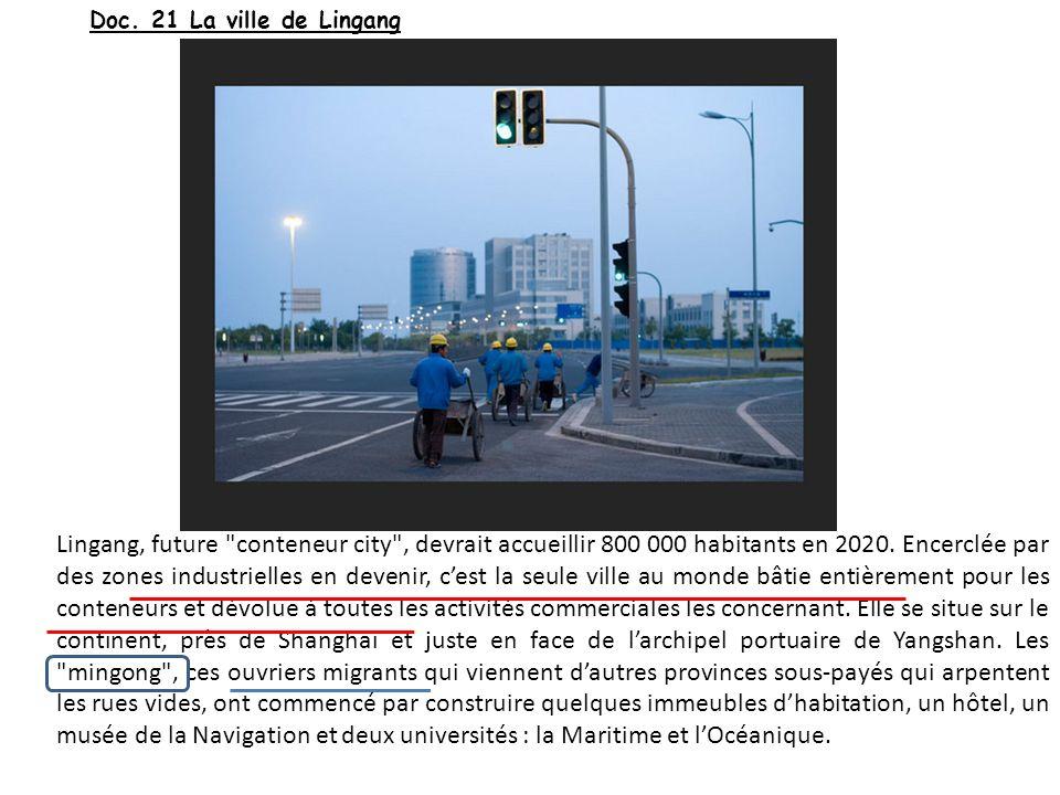 Doc. 21 La ville de Lingang
