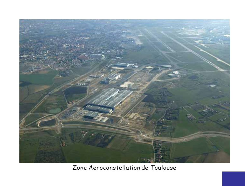 Zone Aeroconstellation de Toulouse