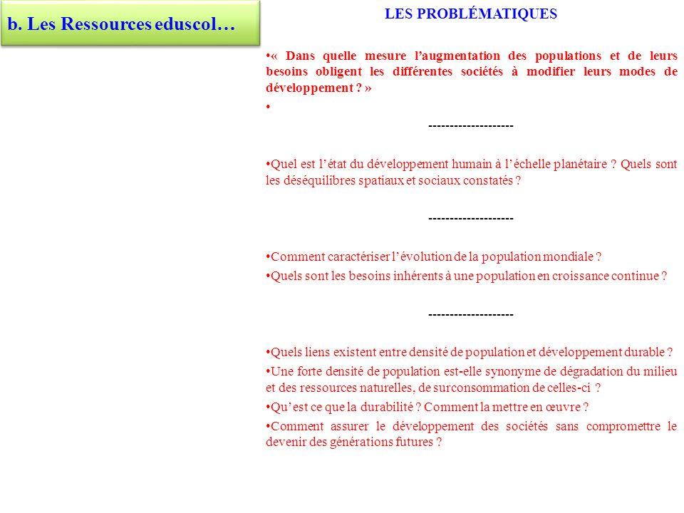 b. Les Ressources eduscol…
