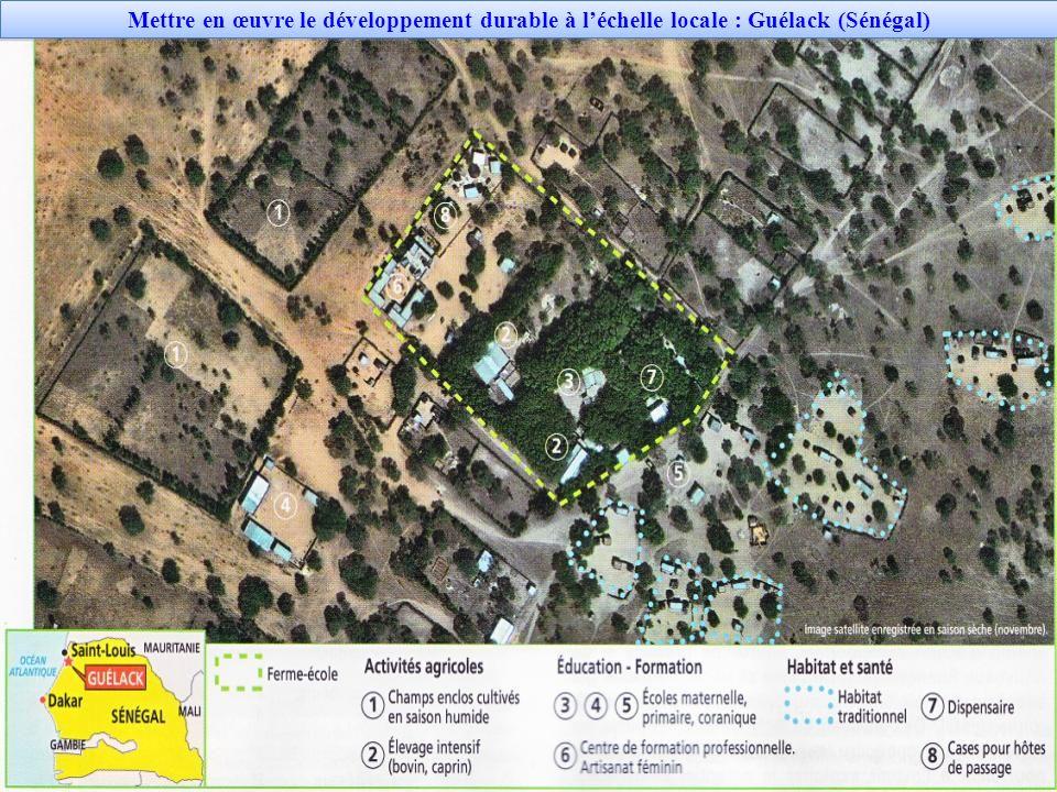 Mettre en œuvre le développement durable à l'échelle locale : Guélack (Sénégal)