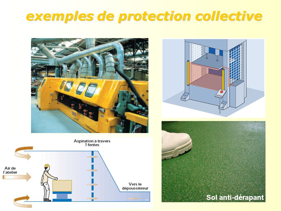 exemples de protection collective