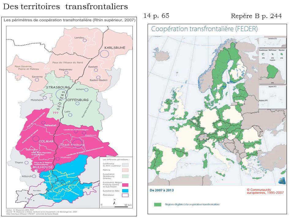 Des territoires transfrontaliers