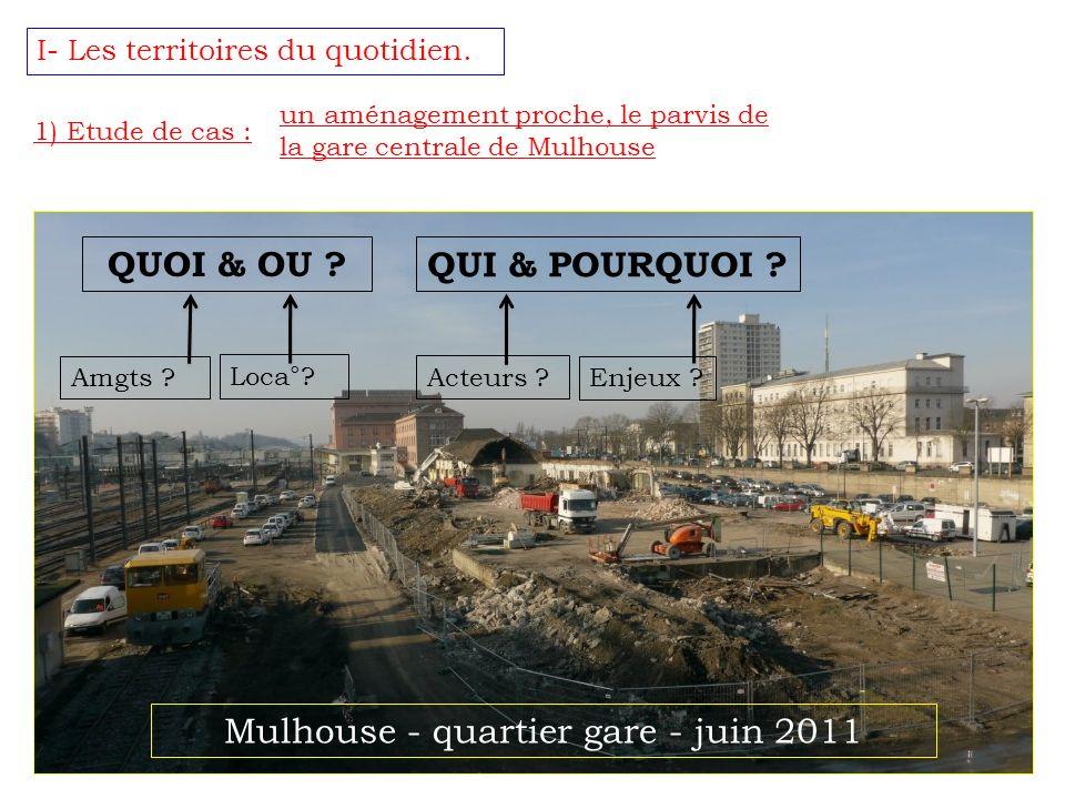 Mulhouse - quartier gare - juin 2011